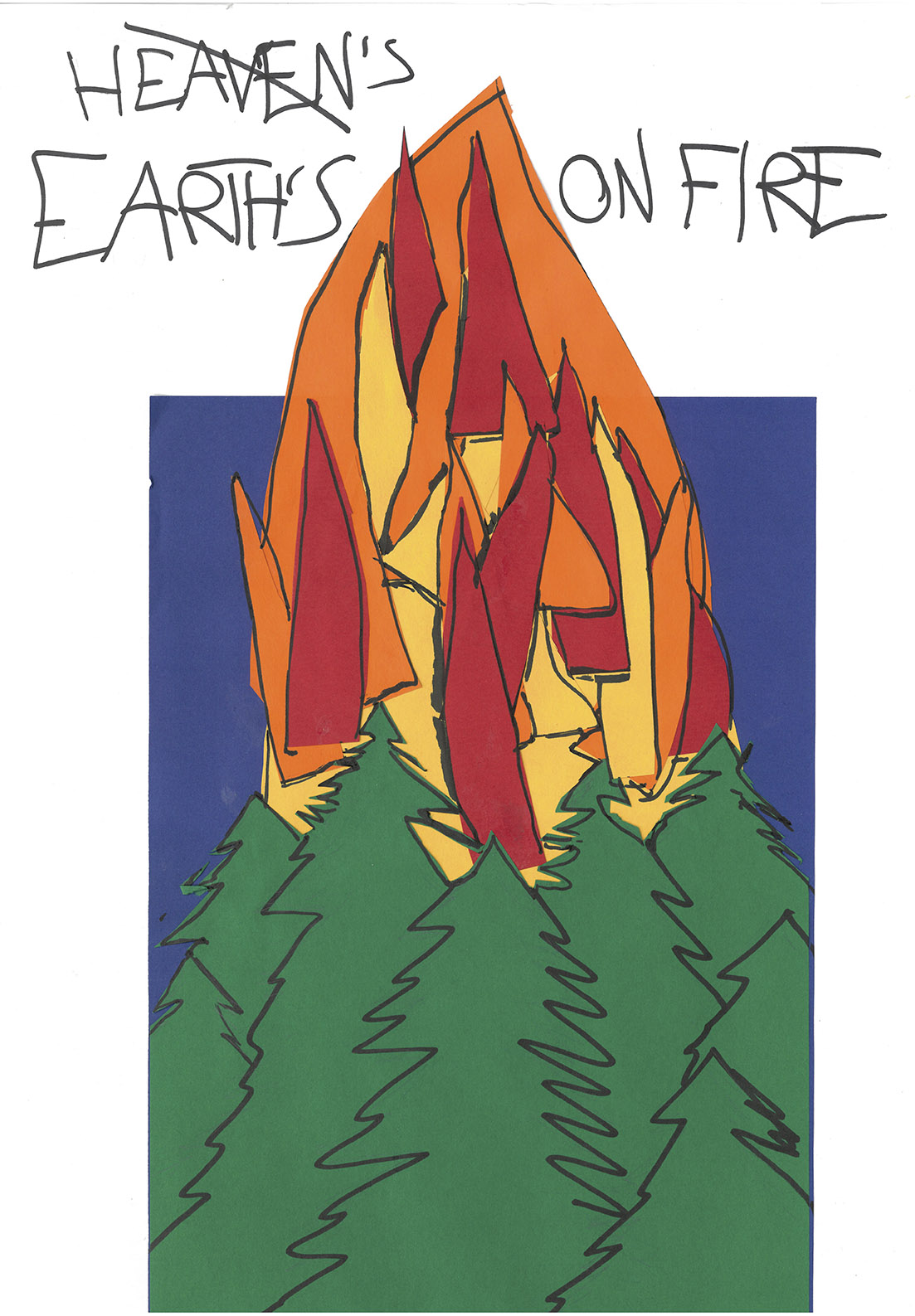 Earths on fire - Anonym