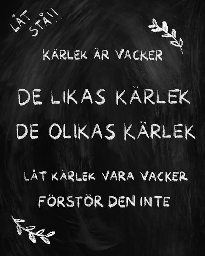 Kärlek - Frida Lindgren 2021