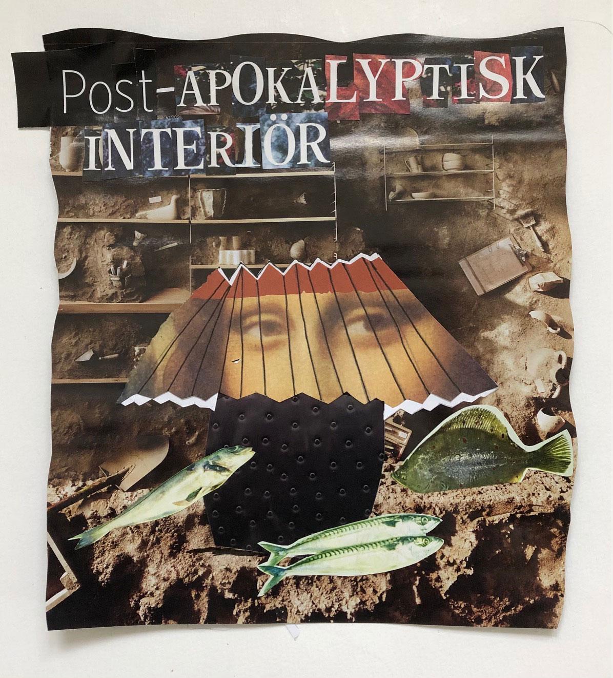 Post-apokalyptisk interiör - Eva Wastenson 2021