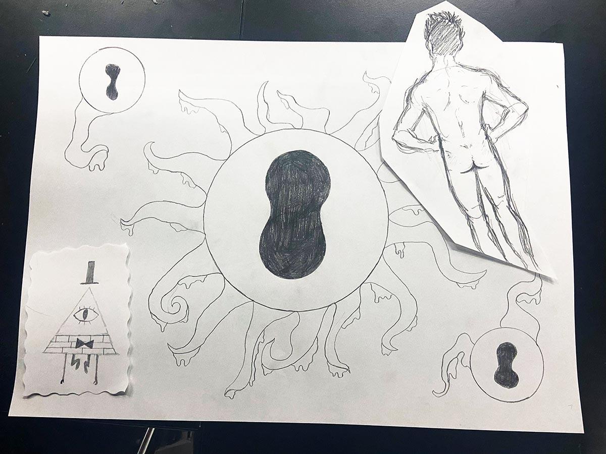 Okänd konstnär 2021 Liquid Linköping Queer Identity
